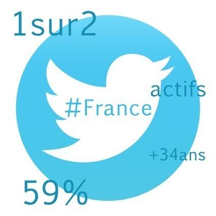 Les utilisateurs de Twitter en France : les statistiques | CommunityManagementActus | Scoop.it