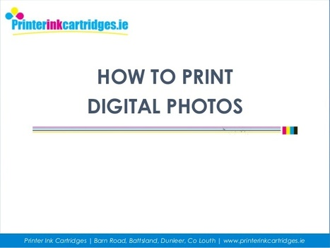 Follow Steps to Print your Digital Photos Using a Photo Printer   Troubleshoot   Scoop.it