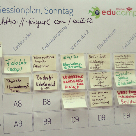 DE: Educamp auf der grünen Wiese - Sessionplan | LinguaCamp | Scoop.it