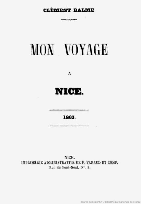 MAIORES NOSTRI: Les Niçois vus par un touriste en 1863 | GenealoNet | Scoop.it