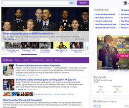 Yahoo unveils new 'personal' homepage with news feeds and social integration | Tech and other stuff | Scoop.it