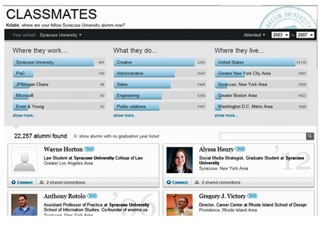 LinkedIn Tip: New Tool Taps into Your Alumni Network | whynotblogue | Scoop.it