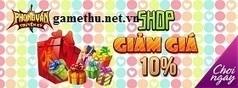 PVTK Sale 10% Cash Shop - Sự kiện game phong vân truyền kỳ   Game online   Scoop.it