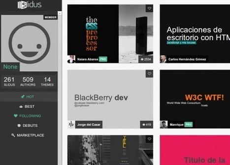 slid.us, el nuevo sistema para realizar presentaciones | TI | Scoop.it