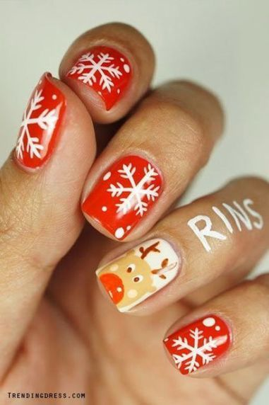 Christmas nails design 25 – Picturing Images | Fashion Home decor Tattoos Beauty Pictures | Scoop.it