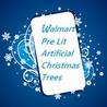Fun Facts: Pre Lit Artificial Christmas Trees Walmart Has