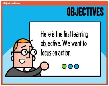Interactive E-Learning Objectives Part 3 - E-Learning Heroes | Education & Gaming & Technology News | Scoop.it