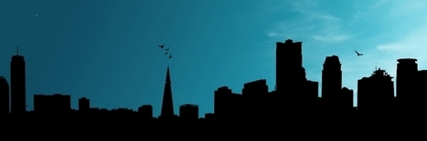 City Silhouette Twitter Header Cover | Twitter Headers | Scoop.it
