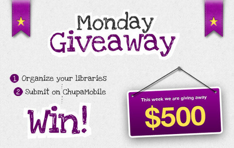 Monday Giveaway – Chupa Mobile Blog | Mobile App Development | Scoop.it
