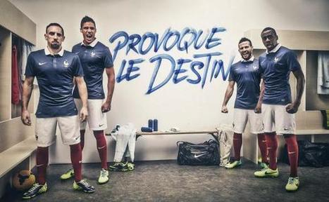 Nike et la FFF dévoilent le maillot des Bleus pour le Brésil | EVENTS, SPORT & SPONSORING | Scoop.it