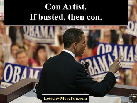 Obama Con | Less Government More Fun | Scoop.it