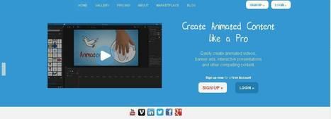 TIC: Crear vídeos y presentaciones muy vistosas con Moovly | Educación y formación en Enfermería de pre grado | Scoop.it