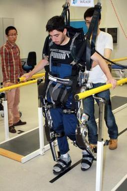 Mind-controlled exoskeleton lets paralysed people walk - tech - 04 June 2013 - New Scientist | Remembering tomorrow | Scoop.it
