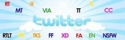30 abreviaturas para sobrevivir en Twitter - alsalirdelcole   comunity manager importancia en la empresa   Scoop.it