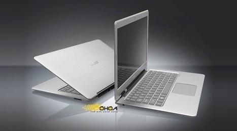 Acer Releases Ultrabook, The iPad & MacBook Air Rival - Daily Gossip | Apple Rocks! | Scoop.it