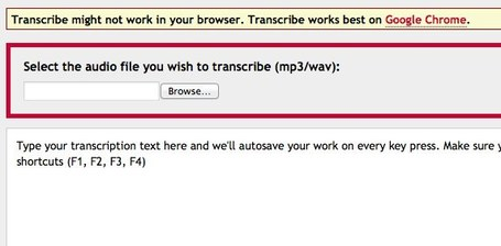 Transcribe - free online tool to help with transcription of interviews and audio clips | Tools for Learners | Scoop.it