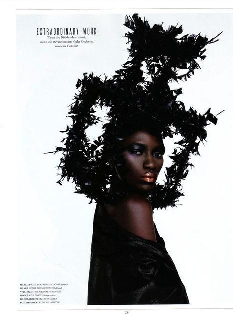 Afrique: Kinée Diouf, le top model sénégalais lance une fondation pour les enfants | Actions Panafricaines | Scoop.it