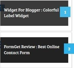Stylish Numbered Popular Posts Widget for Blogger   Blogging Tips And Tricks   BTNT - bloggingtipsntrickz.com   Scoop.it