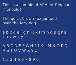 This Holiday Season Be Nice, Not Naughty: Use the Most Readable Low Vision Font | OT mTool Kit | Scoop.it