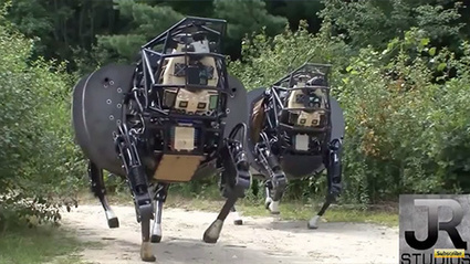 Google's military robot army soon ready for Terminator assault on humanity | Business Video Directory | Scoop.it