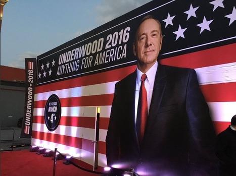 La campagne bat son plein pour Franck Underwood | Communication transmédia | Scoop.it