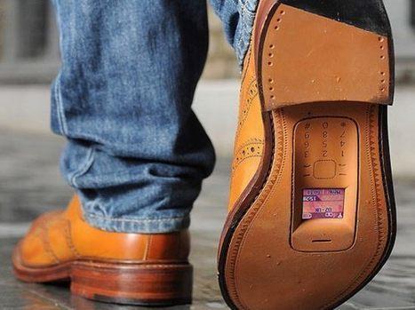 Téléphoner avec ses chaussures est à présent possible | 694028 | Scoop.it
