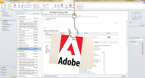 Adobe Reader zero day used in phishing attacks | Information #Security #InfoSec #CyberSecurity #CyberSécurité #CyberDefence | Scoop.it