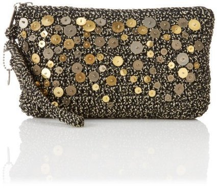 Handbags We Love | Clutches | The SAK The SAK Casual Classics Large Wristlet Clutch,Black With Sequins,One Size | Handbags We Love | Scoop.it