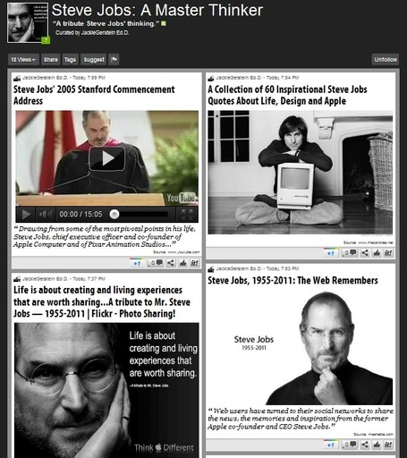 Steve Jobs: A Master Thinker | Scoop.it | iPads in Education | Scoop.it