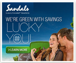 Freebies, Great Deals, & Swag Bucks: Green Savings At Sandals Resorts!   Ecology's impact on Travel and Leisure   Scoop.it