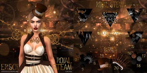 ERSCH - Royal Steam Gacha | 亗 Second Life Freebies Addiction & More 亗 | Scoop.it