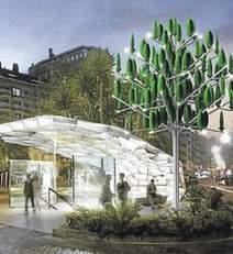 New Wind invente l'éolien urbain | Innovation dans l'Immobilier, le BTP, la Ville, le Cadre de vie, l'Environnement... | Scoop.it