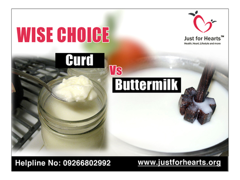 Curd Vs Buttermilk - What should one prefer? - Just for Hearts | Diet Plans : Make Healthier Food Choices! | Scoop.it