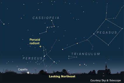 Space News: Excellent prospects for August's Perseid meteors | Politically Incorrect | Scoop.it