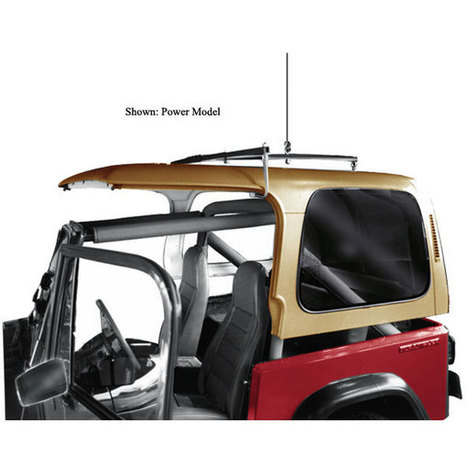 A Jeep Hardtop Hoist For Removing And Storing A Hardtop | Best Jeep Guide.com | Jeep Wrangler | Scoop.it