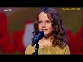 AMAZING, YOU WILL LOVE HER: Talented little girl leaves the judges speechless.