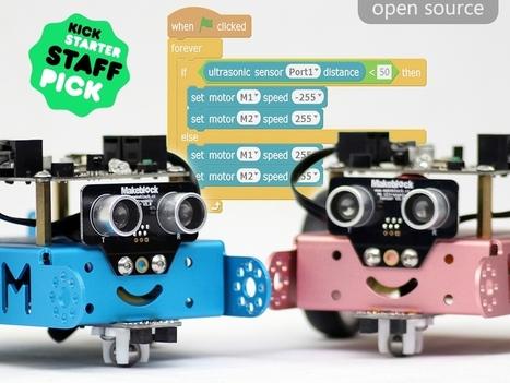 mBot: educational robot for #kids - #maker #arduino #robotics #kikstarter | Digital #MediaArt(s) Numérique(s) | Scoop.it
