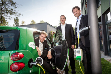 If only #Tesla could make electric car charging this easy | Electric Cars in the UK | Scoop.it