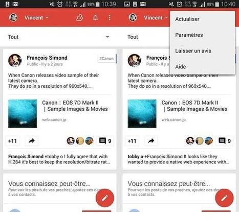 L'app Google+ se met à l'heure du Material Design et permet de créer des sondages | ATN Informatique Internet | Scoop.it