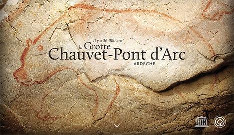 Visite virtuelle : La Grotte Chauvet-Pont d'Arc en Ardèche - Ministère de la Culture | SCOOP IT COLLEGE JEAN MONNET JANZE | Scoop.it