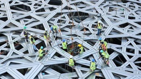 La construction du Louvre d'Abu Dhabi est terminée   Construction l'Information   Scoop.it