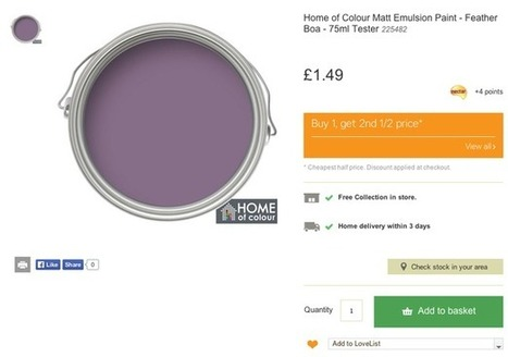 How do ecommerce sites approach the click & collect UX? - Econsultancy (blog) | Websites - ecommerce | Scoop.it