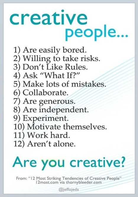 Are you a creative person? | BlaiGarEN | Scoop.it