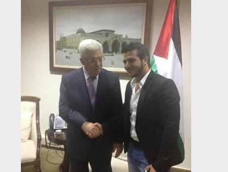 صور يوسف عرفات عرب ايدول مع الرئيس أبو مازن | Zain Blog | Scoop.it