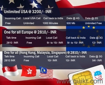 Global SIM card at cheapest rate by Earth Roam in Saket, Delhi Everything Else on Delhi Quikr Classifieds | Buy Earth Roam International SIM Cards at Cheapest Rate. | Scoop.it