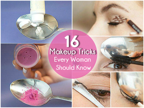 16 Makeup Tricks Every Woman Should Know | DIY Hangout | Beauty Tips | Scoop.it