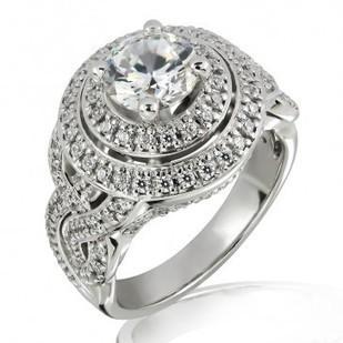 Buy 18K Gold & 1.10 Carat Diamond Ring Online   MyGlitzJewels   myglitzjewels   Scoop.it