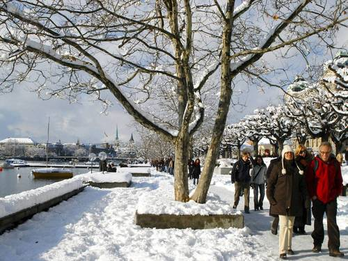 Step into a Swiss Christmas in Zurich - The Independent