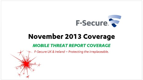 Threat Report Coverage (8th-12th) | F-Secure Coverage (UK) | Scoop.it