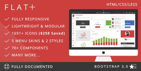 FLAT PLUS – Web App & Admin Panel Template (Admin Templates)   Site Templates Download   Scoop.it